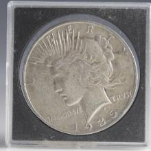 1935 Morgan Silver Dollar
