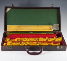 Vintage ES Lowe Creation Bakelite Mah Jong Set