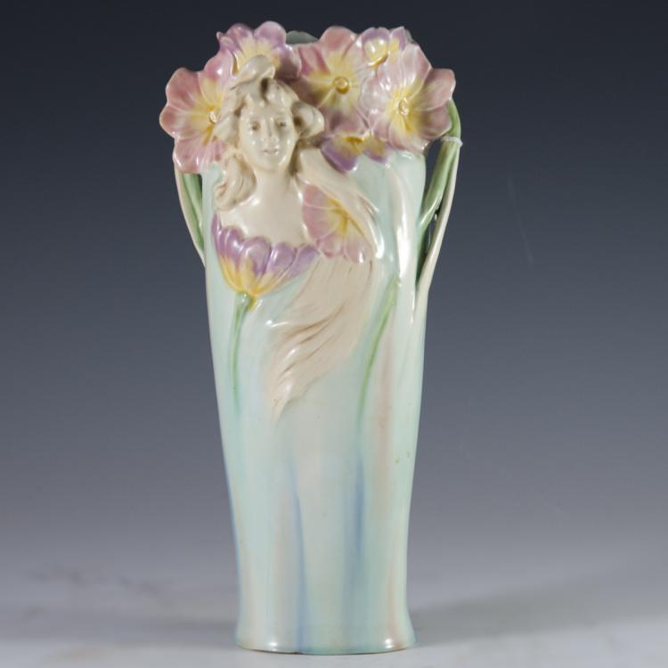 Art Nouveau Porcelain Vase