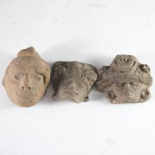 Probably Pre-Columbian Mayan Heads