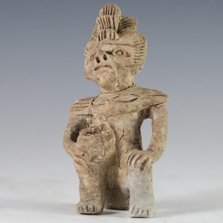 Probably Pre-Columbian Mayan Idol