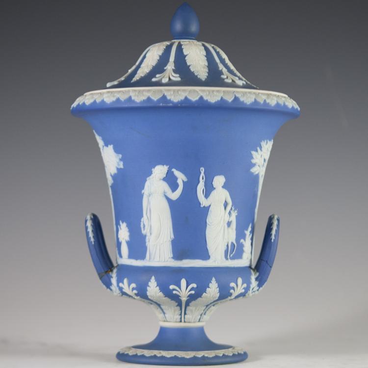 Vintage Wedgwood Jasperware Urn