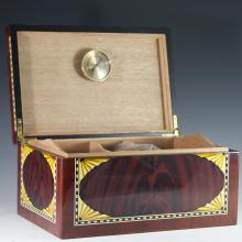 Inlaid Wooden Humidor