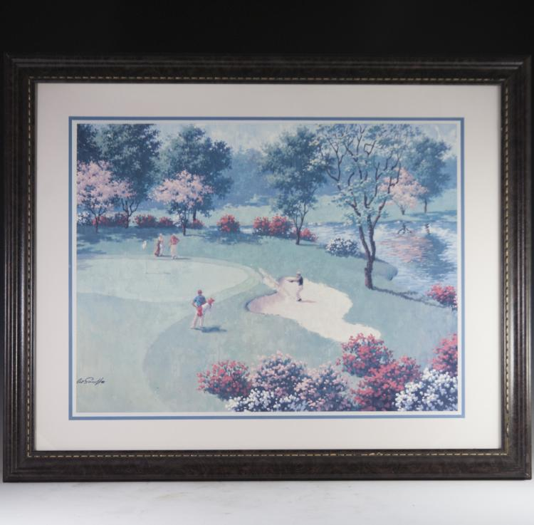 Arthur Sarnoff Golf Print (American 1912-2000)