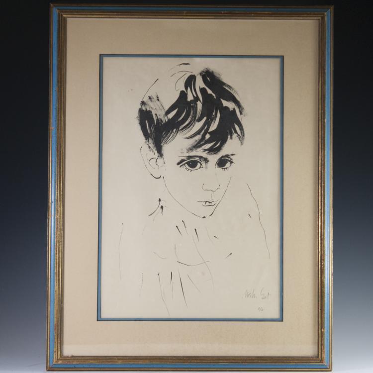 Moshe Gat (Israel b. 1935) Artist Proof