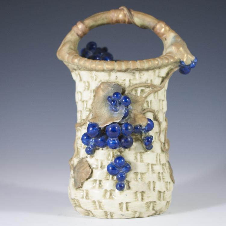 Austrian Amphora Pottery Vase