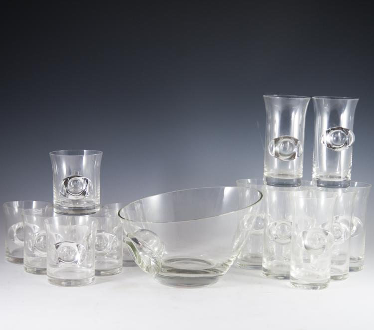 Contemporary Rosenthal Crystal