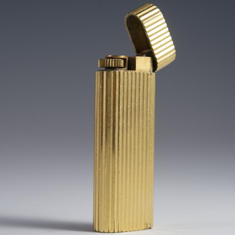 Must De Cartier Gold Plated Lighter