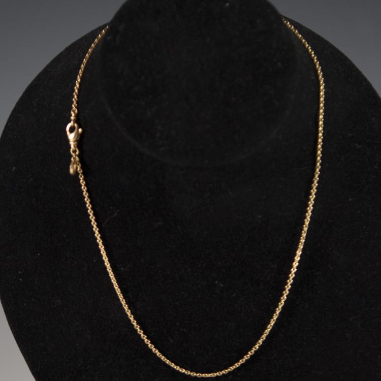 18kt Yellow Gold Bvlgari Necklace