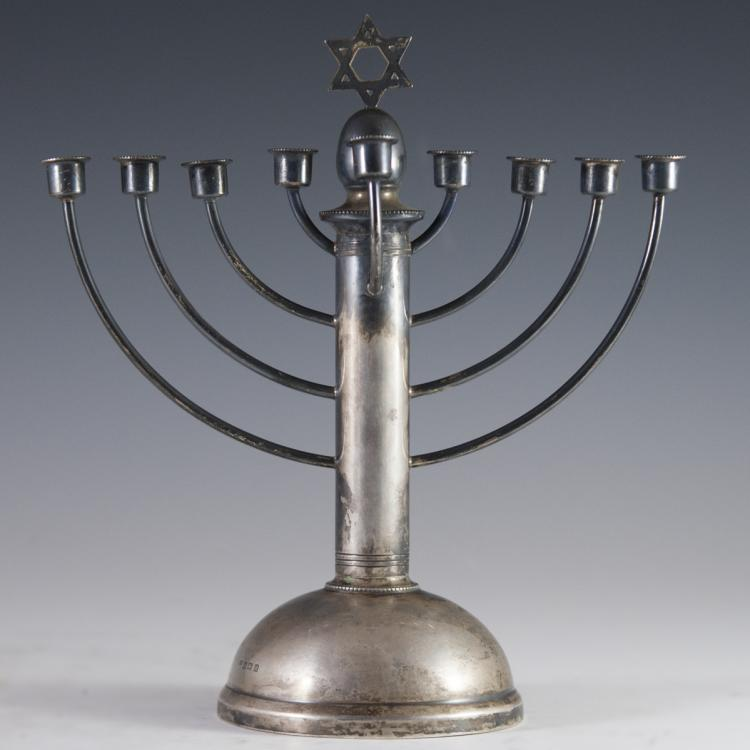 William Adams Ltd Sterling Menorah