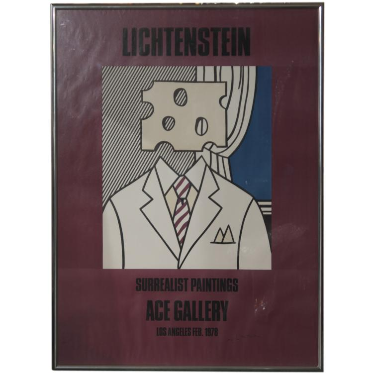 Roy Lichtenstein (USA 1923-1997) Signed