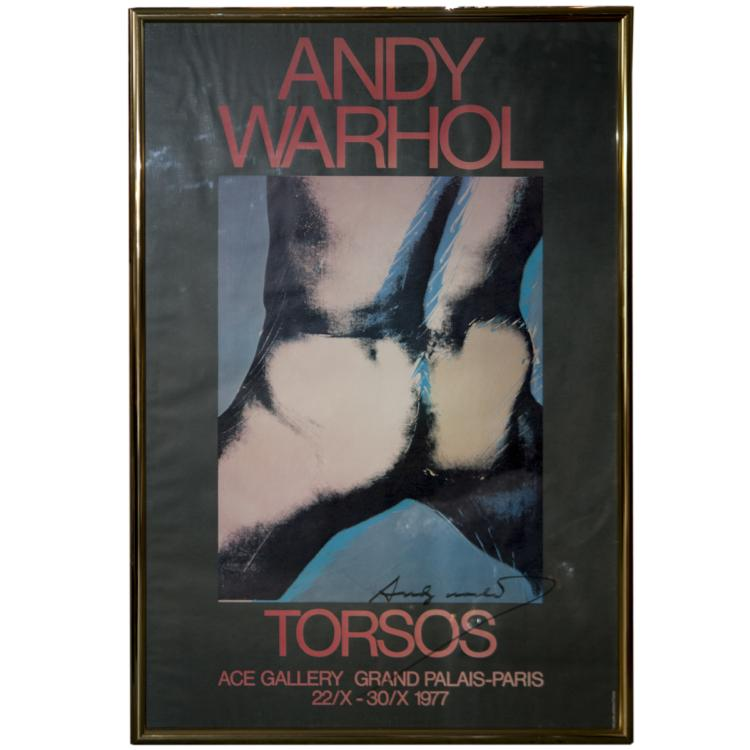 Andy Warhol (American 1928-1987) Signed