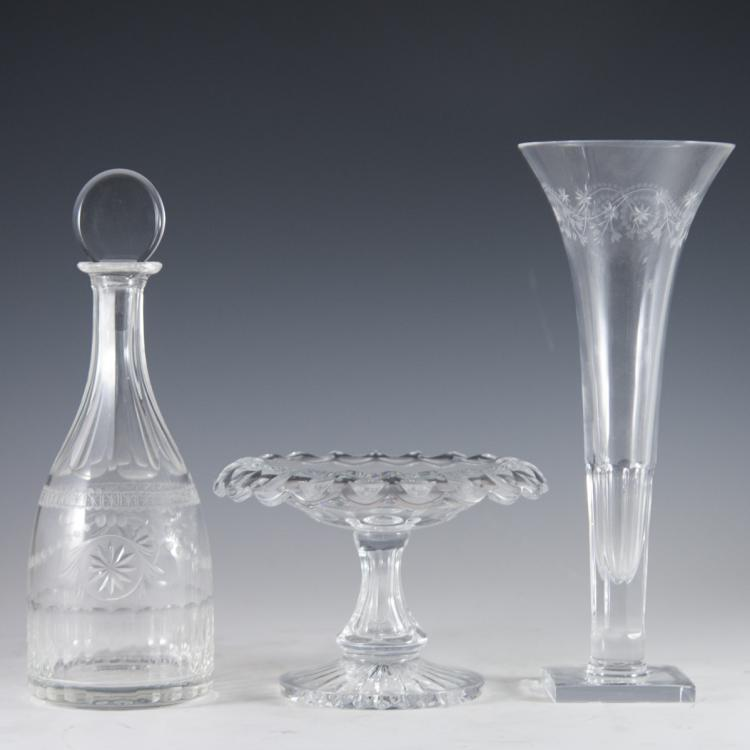 William Yeoward Etched Crystal
