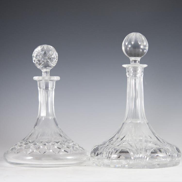 Cut & Etched Crystal Decanters