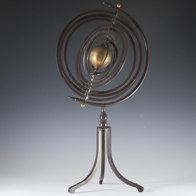 Bronze Armillary Globe
