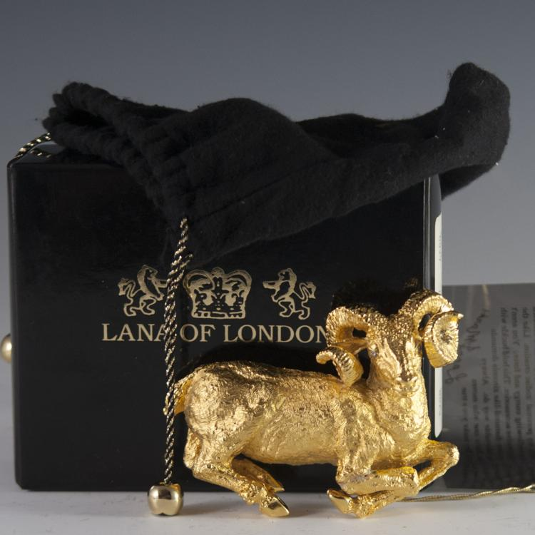 Lana of London Gilded Sterling Belt Buckle