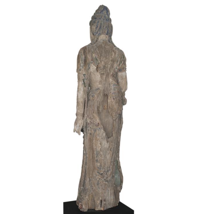 Yuan Dynasty Standing Bodhisattva