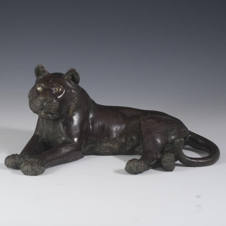 Chinese Bronze Tiger