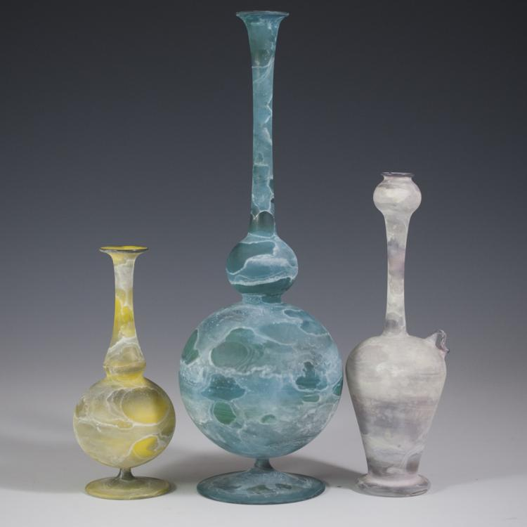 Israeli Glass Vases