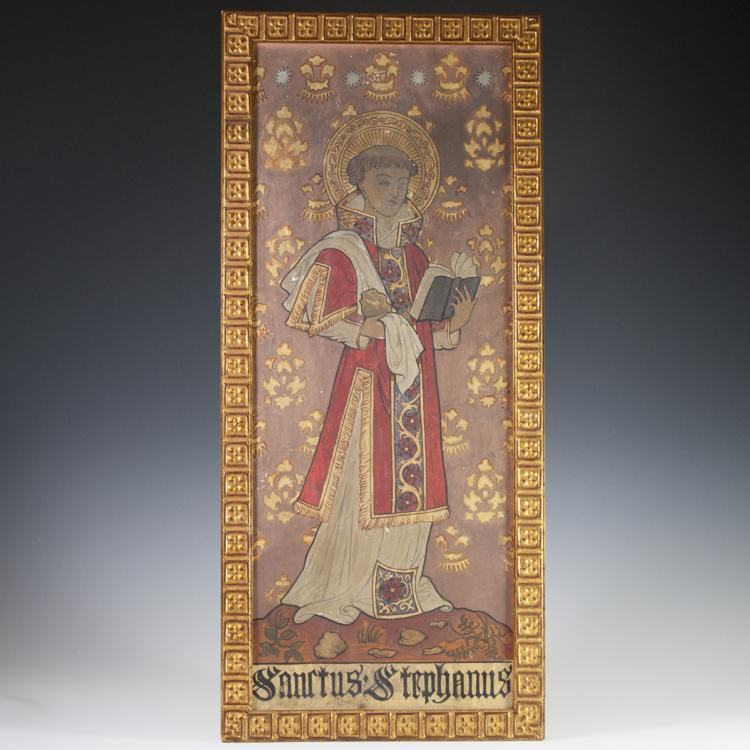 Saint Stephanus Icon on Panel