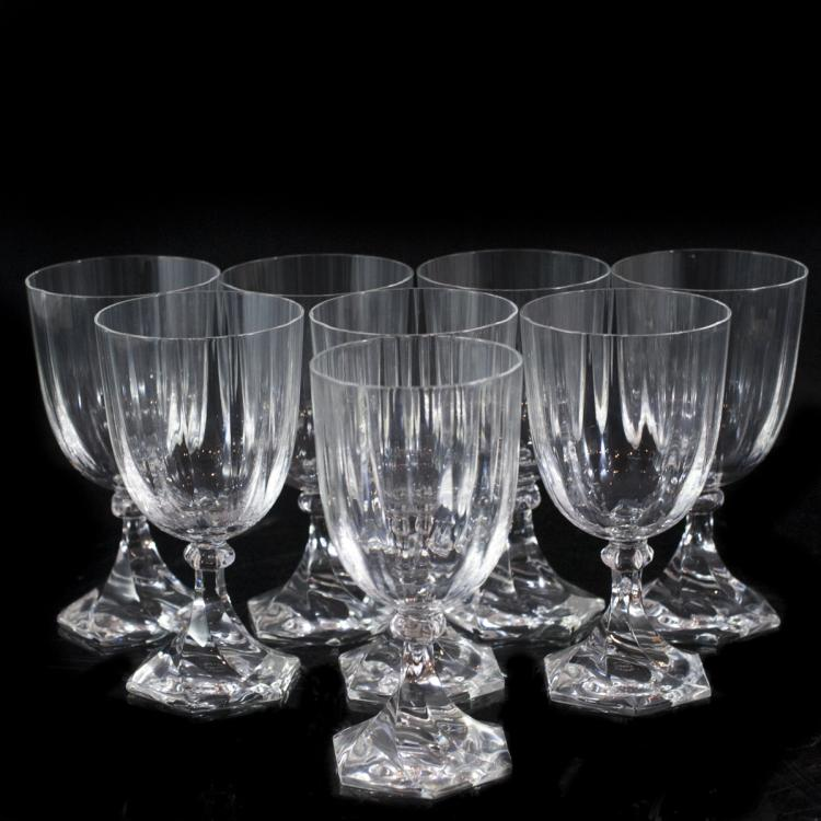 Sevres Crystal Wine Glasses