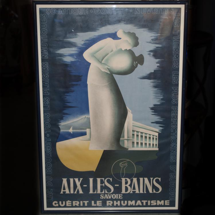 Aix Les Bains French Poster