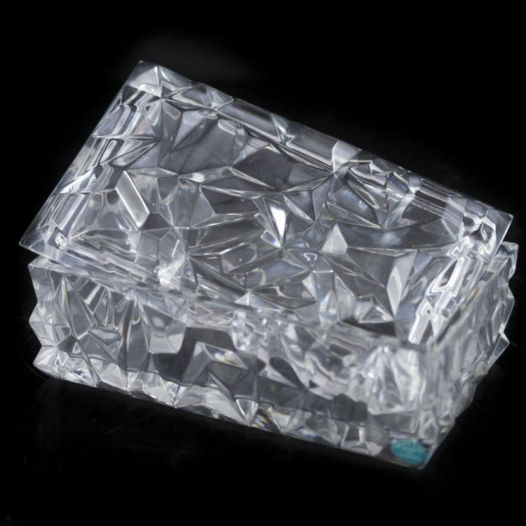 Tiffany & Co. Crystal Box