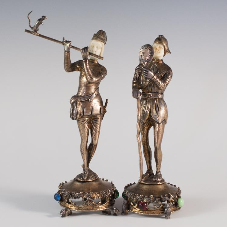 Israel Freeman & Son Sterling Figurines