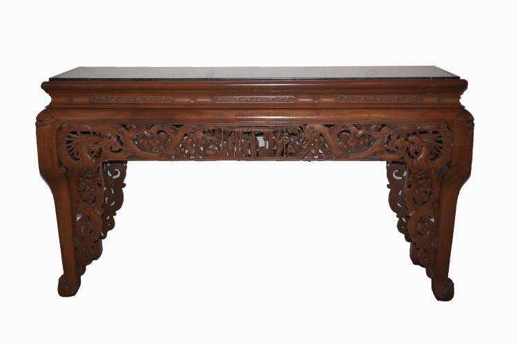 Chinoiserie Art Nouveau Altar Table