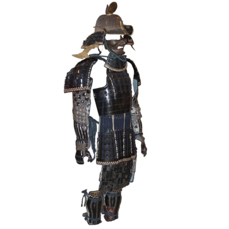 Antique Ki Munehide Saku Lacquered Armor