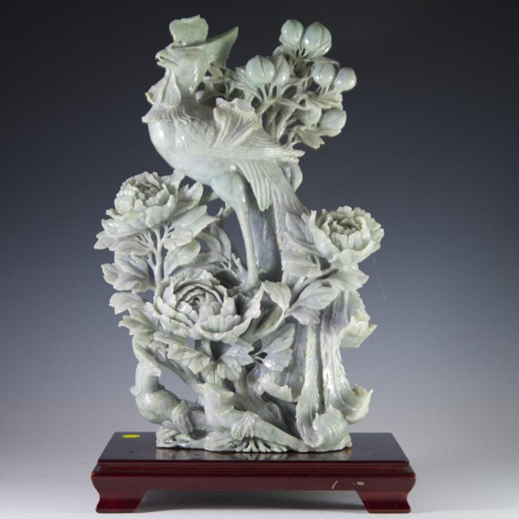 Carved Jade Sculpture