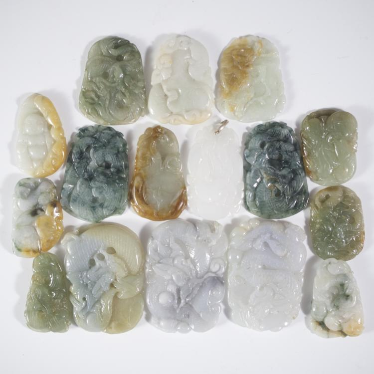 Lot of Carved Jade