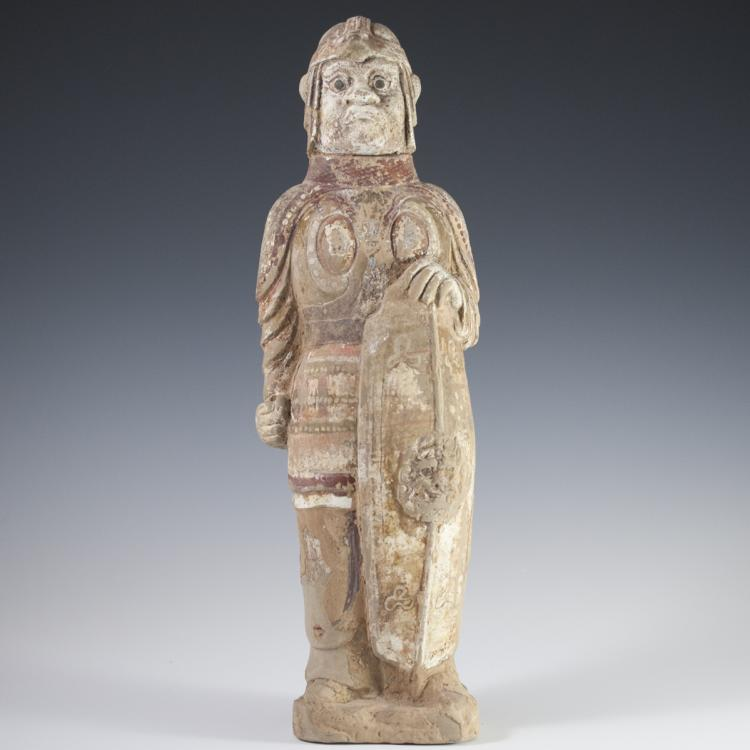 Wei Dynasty Terracotta Thomb Warrior