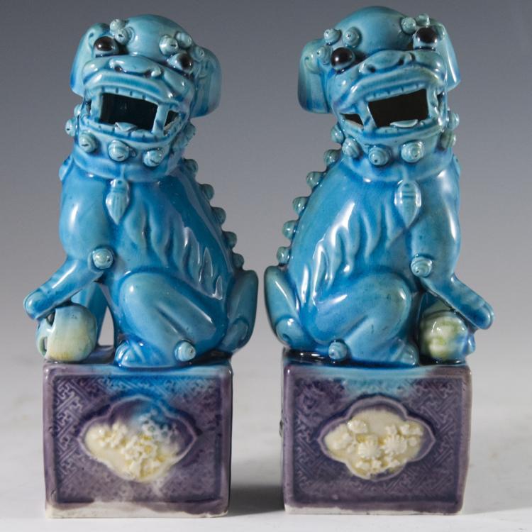 Porcelain Foo Dogs