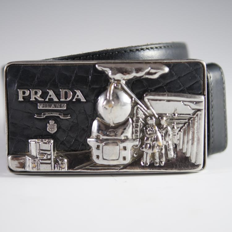 Vintage Prada Belt Buckle