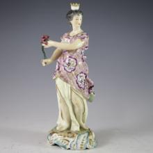 Antique Derby Porcelain Figurine