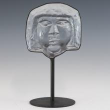 Erik Hoglund Kosta Boda Glass Sculpture