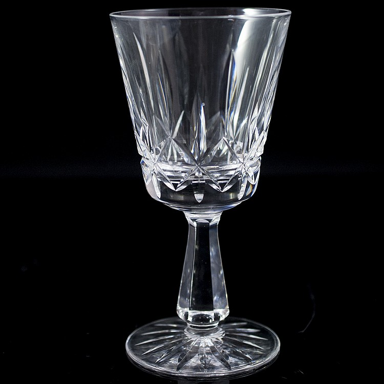 Waterford crystal wine glasses - Wedgwood crystal wine glasses ...