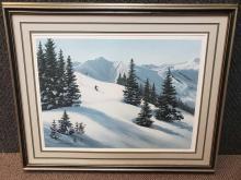 "Maynard Reece ""Mountain Snow"" Print"