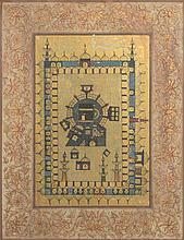 Scene of Holy Ka'aba, 20th Century - مشهد لمكة المكرمة، الهند القرن 20