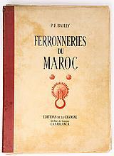 Ferronneries du Maroc - كتاب نادر للمهندس المعماري