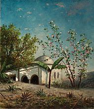 Orientalist Scene, 1870's - وليام هنري هيلارد (أمريكي، 1905 - 1836) مشهد إستشراقي خلال سنة 1870