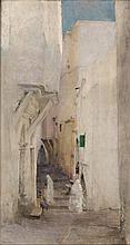 Ruelle a Alger, 1887 - باسكال داجنان بوفيريه (فرنسي، 1929 - 1852) زقاق بالجزائر العاصمة