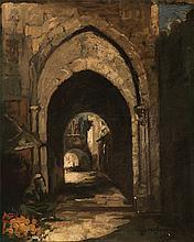 Rue de Jerusalem, 1931 - إيميلي بايس (بلجيكية، 1954 - 1879) شارع القدس