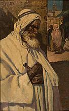Arab Warrior - أ. برينشن فرايد (القرن 19) محارب عربي