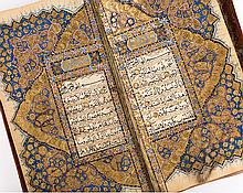 Qur'an Manuscript, Kashmir 19th Century - قرآن كشميري ذو طابع صفوي، القرن 19