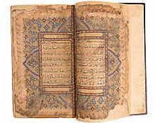 Large Qur'an Manuscript, Persia 18th Century - القرآن الكريم، مجلد كبير، بلاد فارس، القرن 18