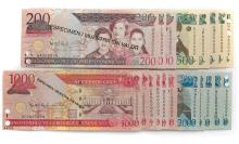 Set of 40 Banknotes (Specimen/Uncirculated) - Central Bank of the Dominican Republic