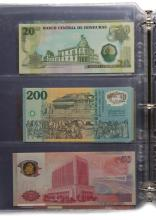 44 Banknotes (Uncirculated) - Variety of Currency