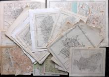 British County Maps 18th-19th Century Lot of 46